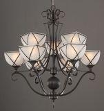 Candelabro do ferro/lâmpada do pendente (HLH-21459-6+3)