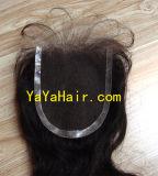 Bandeau de lacet de cheveux humains