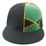 平らなピーク(NE1108)が付いている合われた野球帽