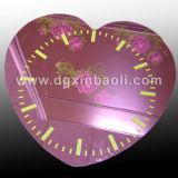 Horloge de miroir acrylique, miroir cosmétique, miroir de PC