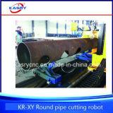 Máquina de estaca do CNC da junção de tubulação do metal do cotovelo da tubulação do metal dos encaixes de tubulação do metal