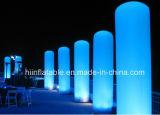 Tubo gonfiabile di vendita caldo della decorazione LED di evento