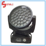 37PCS RGBW con la luz principal móvil de la colada de la lámpara LED del CREE