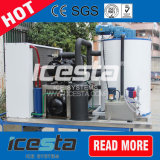 Máquina de hielo refrigerada de la escama de Icesta para Fresco-Guardar