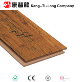 Suelo de bambú tejido filamento dirigido raspado mano