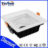 ÉPI enfoncé carré en aluminium LED Downlight de l'éclairage T-35 de la vente chaude LED