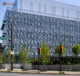 Лист специальных материалов ненесущей стены декоративный Perforated алюминиевый