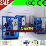 Épurateur de pétrole de transformateur de vide poussé, installation de traitement de pétrole de transformateur