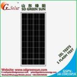 painel solar poli de 18V 140W-155W com tolerância positiva (2017)