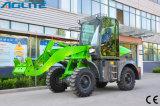 緑の環境の上のブランドの1000kgの小型車輪のローダー