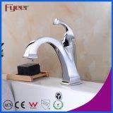 Torneira de misturador da bacia de lavagem do Faucet de bronze do estilo do vintage de Fyeer