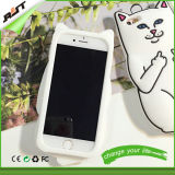 iPhone 6 Caso do Cat Silicone do OEM Mobile Phone Cover (RJT-0165)
