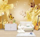 Impresión mural del papel pintado de la foto de la pared llena movible respetuosa del medio ambiente de la alta calidad