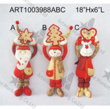 Весна Legged Санта и игрушки украшения праздника няни снеговика, украшение Asst-Рождества 3