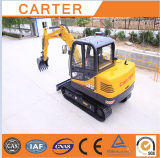 Excavador de la retroexcavadora hidráulica de múltiples funciones de CT60-8b III mini