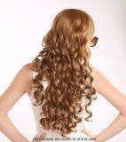 La maggior parte della parrucca piena popolare dello Synthetic del Mop della parrucca del merletto dei capelli ricci
