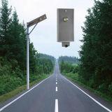 FCC di RoHS del Ce 5 anni di garanzia tutta in un indicatore luminoso di via solare di 20W LED