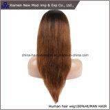 Perruque neuve de lacet de cheveux humains de Vierge de Brésilien du prix de gros 100%
