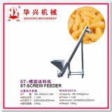 Linha de produção do petisco da torção (petisco do milho do sistema de extrusão da extrusora do petisco do milho/rachadura 80-120Kg/h)