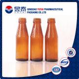 Bouteille en verre de la meilleure de qualité boisson ambre de couleur