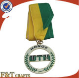 관례에 의하여 새겨지는 아연 주물 스포츠 회의 메달 (FTMD1379A)