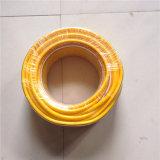 Alta Qualidade Elastic Soft PVC / Fiber Reinforced / PVC colorida trançada Mangueira