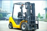 Un 2.5t Diesel Forklift with Chinese C49 Engine and Triplex 7.0m Mast (CPCD25)