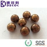 O sólido de bronze da esfera de AISI H59 H62 H68 para a esfera de rolamento parte o moinho