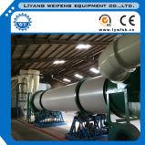 Consumo das baixas energias do secador de cilindro giratório da serragem com eficiência elevada