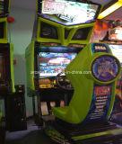 R-Настроенная машина игры участвуя в гонке автомобиля аркады имитатора аркады