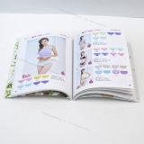 Folletos/libretes/impresión del compartimiento, paginaciones plegables, 4cx4c más barnizado, derechos reservados protegidos