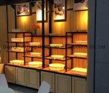 Type étalage de tiroir de compteur de pain d'étalage de nourriture d'île