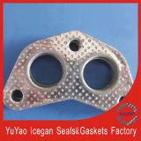 Manufacturer direto Exhaust Air Cushion/The Motorcycle Exhaust Pipe Gaskets Engine Parte com peças de automóvel
