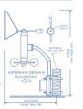 Mètre marin de vent/anémomètre pour des navires/bateaux