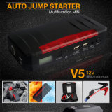 Diesel Vehicleのための多機能のMini Portable 21000mAh/12V Car Jump Starter PowerバンクのウシV5