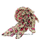 Mode Leopard Printed Long Scarf pour Lady