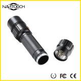 알루미늄 합금 크리 사람 XP-E LED 안전 경비 토치 (NK-1865)