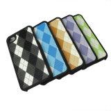 Buena cubierta vendedora del teléfono móvil del cuero del tirón de la Multi-Impresión (multicolora)