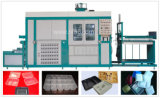 Máquina de formación terma de los alimentos de preparación rápida de PP/PS/Pet del vacío plástico del envase