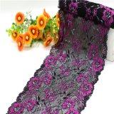 Флористическ-Конструируйте уравновешивания шнурка простирания жаккарда для женское бельё и нижнего белья