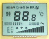 Aplicado em Air Conditioner Indicator Panel LCD Screen