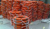 2.5kg Solas Life Buoy com corda da bóia de vida para salvar vidas e resgatar