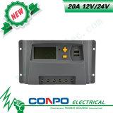 20A、12V/24V、USBのLCDの太陽コントローラ