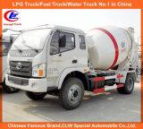 Des China-Foton Forland 4X2 kleiner Kleber-4m3 Betonmischer-LKW Mischer-des LKW-5m3