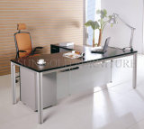 Modern e Iron poco costosi Metal Type Executive Office Table (SZ-ODT635)