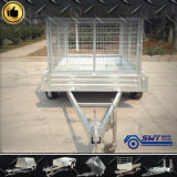 Heavy high-technology Customized Tandem Trailer per Machinery Transport