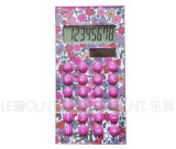 8 dígitos se doblan la calculadora del regalo de la energía (LC512B)