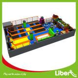 다채로운 점프 매트에 의하여 이용되는 실내 Trampoline 공원 제조자