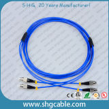 FC - FC Sm Duplex Armored Fiber Optic Patch Cord