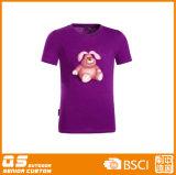 Camiseta de secado rápido de la manera de la impresión de las mujeres